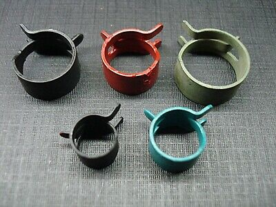 10 pcs 5 sizes Pontiac Oldsmobile fuel vacuum transmission hose spring clamps