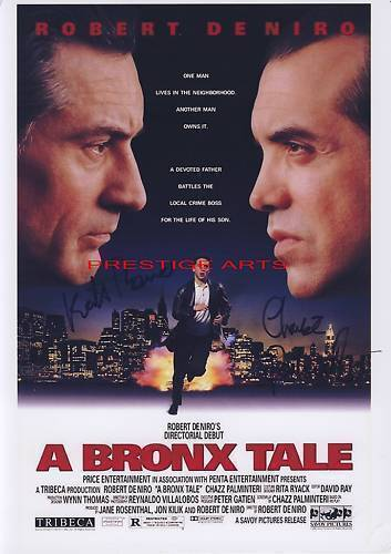 A Bronx Tale signed movie poster print