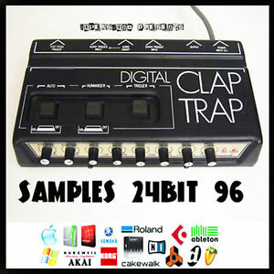 Simmons digital drum clap trap analog vintage 24 bit 96 24Bit ...