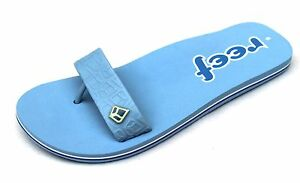 Reef Women's UK 7 Blue & White Arched Kyuta Brand New Summer Thong Flip Flops
