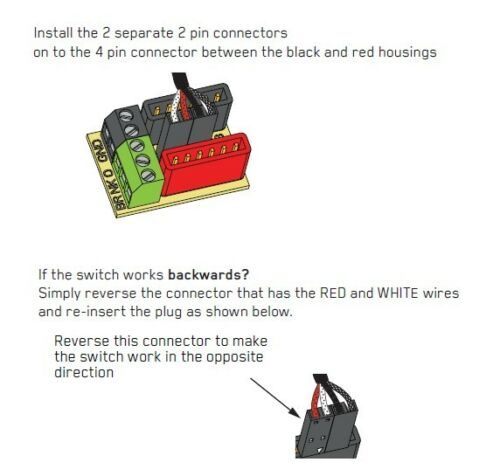 SOLDERLESS Wiring BLACK 3-WAY TOGGLE SWITCH for EMG PU short wire quick connect