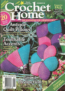 CROCHET HOME MAGAZINE ~ #48 ~ AUGUST-SEPTEMBER 1995 ~ EXCELLENT ...