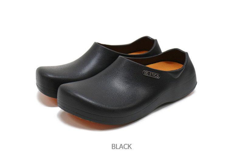 STICO  Uomo Chef Kitchen Schuhes Non-Slip BLACK Simple Rubber Comfortable Nurse BLACK Non-Slip nov c567cf