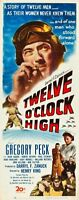 12 Oclock High 14x36 Insert Movie Poster Replica