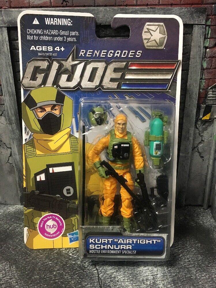 GI JOE AIRTIGHT figure Renegades POC ROC 25th 50th Cobra Rise Pursuit Modern
