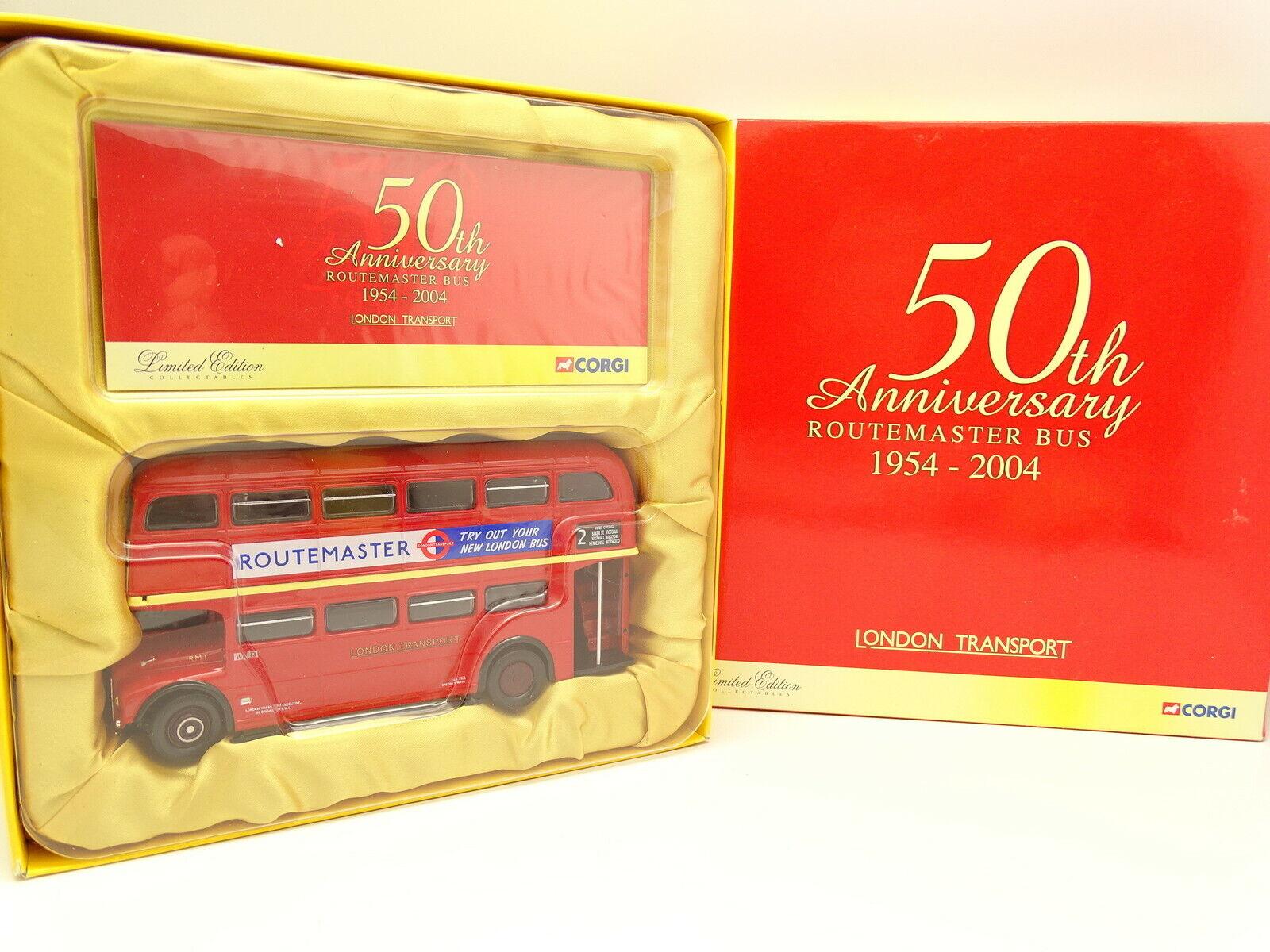 Corgi 1 50 - Coffret Routemaster London Bus 50th Anniversary