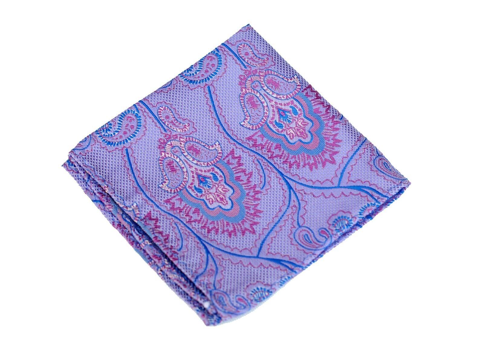 Lord R Colton Masterworks Pocket Square - Trindade Coastal Purple - New