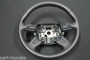 Audi-Q7-4L-Facelift-Lenkrad-Leder-Multifunktion-Soul-Lederlenkrad-4L0419091AC