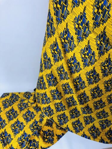 Premium African Ankara Satin Silk /& Chiffon Print Fabric With Stones Craft 1Yard
