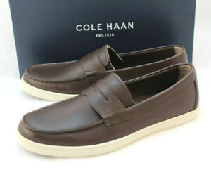 New-COLE-HAAN-Size-9-M-Brown-Hyannis-Penny-Leather-Men-039-s-Loafer-II-MSRP-100