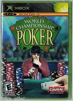 World Championship Poker (xbox, 2004) Factory Sealed