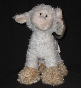TY BAAABSY the LAMB BEANIE BABY - MINT with MINT TAG