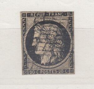 FRANCIA-1849-CERES-20c-VFU-J5213