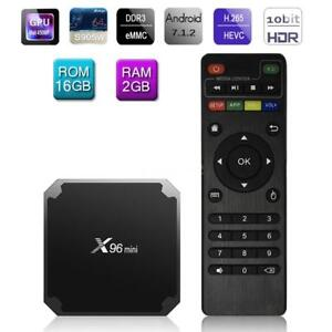 X96-Mini-4K-Smart-Android-7-1-TV-Box-2GB-16GB-S905W-Quad-Core-HD-Medien-Spieler