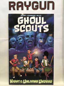 Ghoul-Exploradores-Noche-de-Unliving-Undead-Libro-en-Rustica-Novela-Grafica