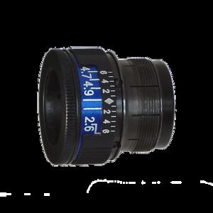 regolabile NUOVO 001388 Anschütz Anello Korn vario Swing 2,8-4,8 mm di diametro