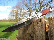 Jagdmesser Messer Knife Bowie Buschmesser Coltello Cuchillo Couteau Hunting Wolf