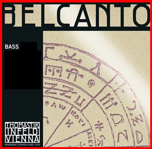 Thomastik Belcanto Bass String  Set 3 4  SOLO Tuning