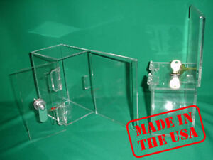 Strong-Acrylic-Funrasing-Donation-Box-with-Lock-and-Keys-A