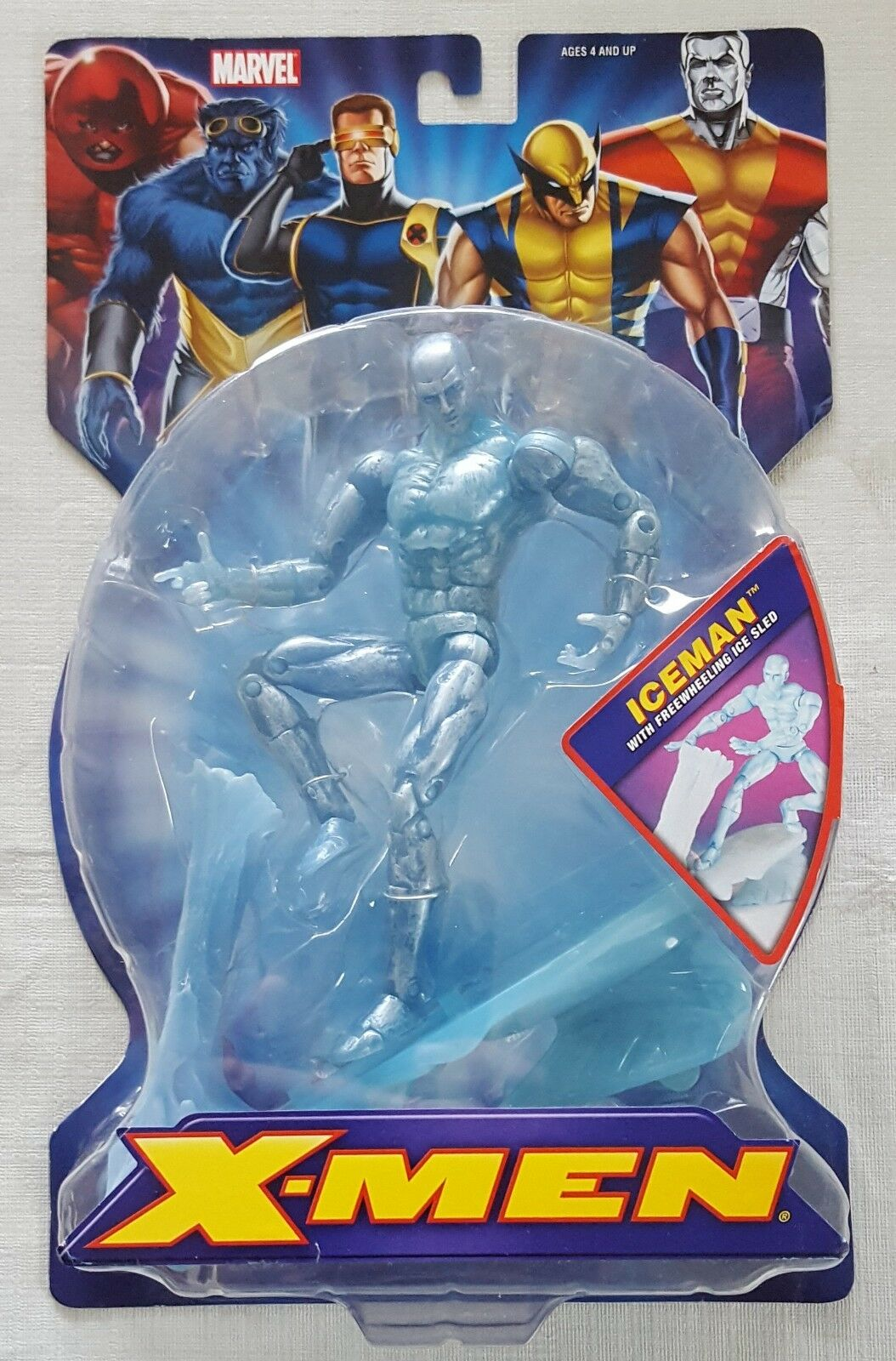 Marvel - legenden  x - men  - klassiker iceman action - figur - toybiz