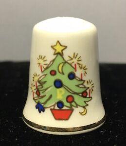 Vintage Thimble Mason's Patent Ironstone Christmas Tree and Mistletoe. ENGLAND