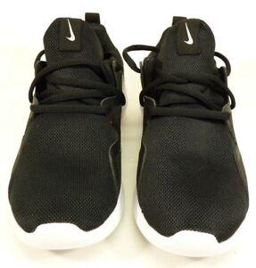 NEW Women s Nike Tessen Running Shoes Black And White AA2172-001 ... e6729d71d