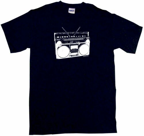 Boom Box 80/'s Radio Logo Kids Tee Shirt Boys Girls Unisex 2T-XL