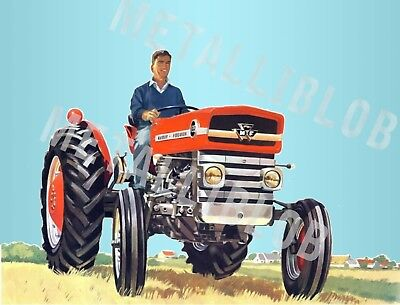 Poster Massey Ferguson 135 Tractor Advertising a3 3 For 2 Offer -