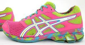 tenis asics rosa neon