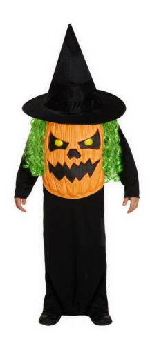 BOY Girl halloween strega zucca teschio vampiro Jumbo Face Costume