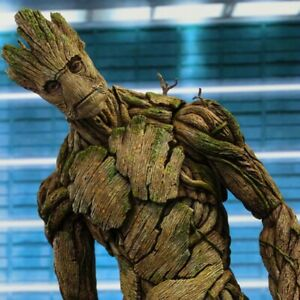 NEW Hot Toys Version Marvel Groot in Guardians of The Galaxy Tree Man  Avengers   eBay