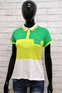 Polo-US-POLO-ASSN-Donna-Taglia-XS-Maglia-Maglietta-Camicia-Shirt-Woman-Cotone