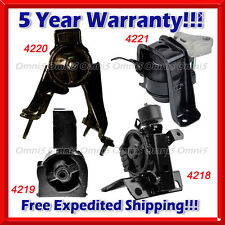 K024 Fit 03-08 Toyota Corolla 1.8L Engine & Trans. Mount for AUTO TRANS(4pc Set)