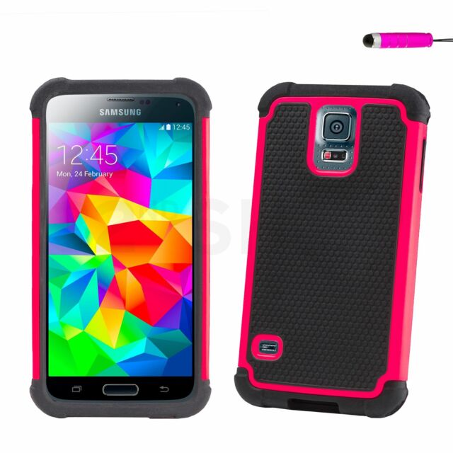 NEW SHOCK PROOF CASE COVER FOR Samsung Galaxy S5 SCREEN PROTECTOR