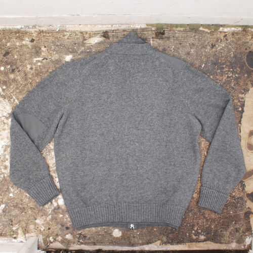 Laurent 1195 Ny Yves Saint £ Xl Bnwt Rrp Ekte Cardigan Grey Layered AzEUOwqz