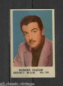 Robert-Taylor-Vintage-Movie-Film-Star-Trading-Card-MGM-C-141