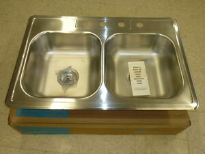 Merveilleux Image Is Loading NOS POLAR STAINLESS STEEL SINK 4 HOLE 33
