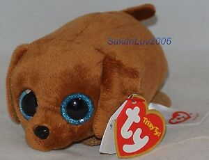 New-2017-TY-Teeny-Tys-RANGER-the-Dachshund-3-034-Stackable