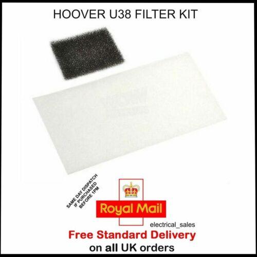 Hoover U38 TC1174 011 TC1182 001 Aspirateur Kit de Filtre 35600416 pièce d/'origine