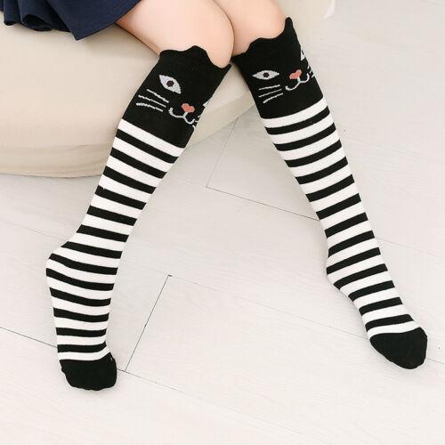 Damen Tiere Überknie Overknee Lang Socken Strümpfe Kniestrümpfe-Stockings~ K8F7