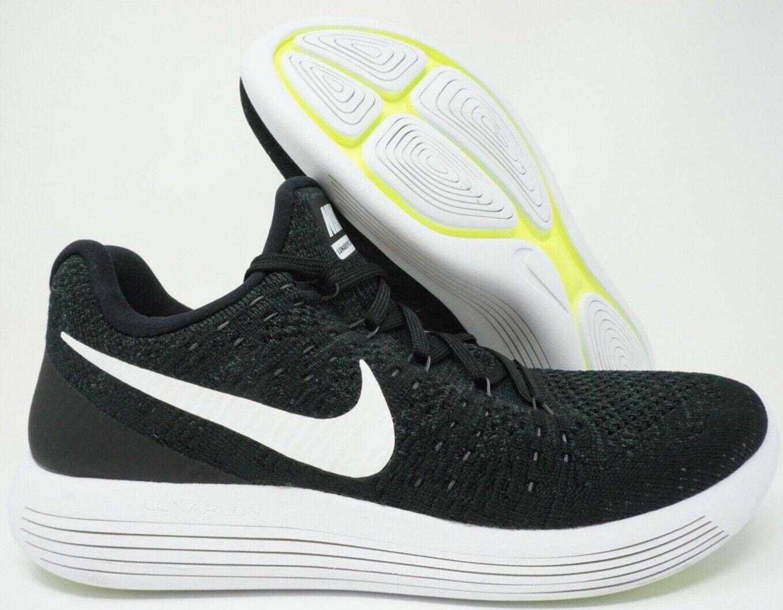 69ff413c9c0f Nike Lunarepic Low Flyknit 2 Mens Running shoes Black Black Black White  Multi Size bf90df