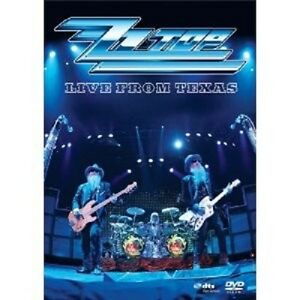 "ZZ TOP ""Live from Texas"" DVD ROCK NUOVO"