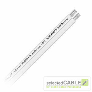 SOMMER CABLE SC FLUKOS SF 2x 2,5mm² Lautsprecherkabel flach ...
