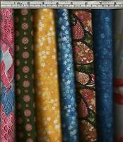 Shimmering Bouquets by Fabri-Quilt 100% Cotton Fabric - Patchwork + Quilting