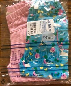 JoJo Maman Bebe Toddler Girls Two-Pack Essential Leggings//Crawlers size 12-18m