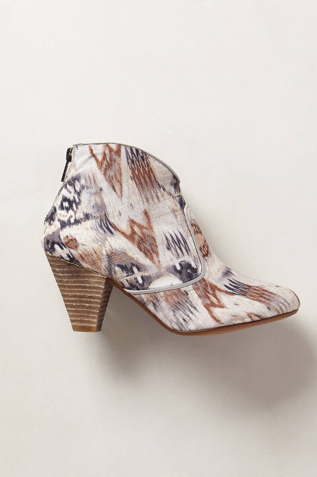 Anthropologie Booties Ankle Boots By Highway Rambler Ikat Heels By Boots 67 Collection 39 c89546