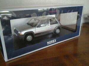 Renault Alpine Bleue Neuve en boite Norev 3 inches