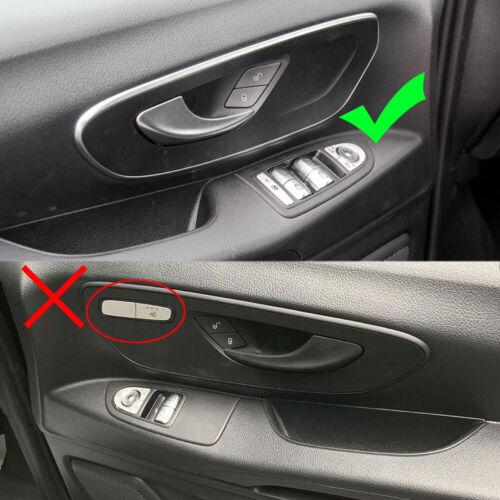 fits Mercedes-Benz Metris Vito 2014-2020 Car Front inner Door Handle Board Cover