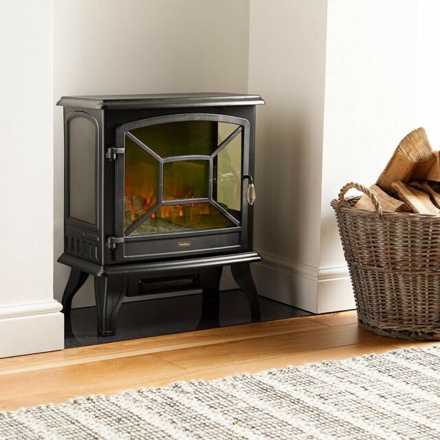 Home, Furniture & DIY Fireplaces 1800W Freestanding ...