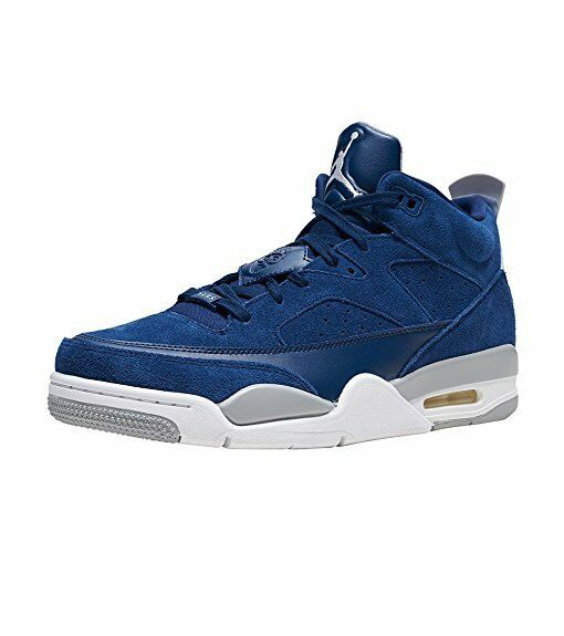 NEW 580603 402 MEN'S JORDAN SON OF LOW SHOES    NAVY blueE WHITE-WOLF GREY